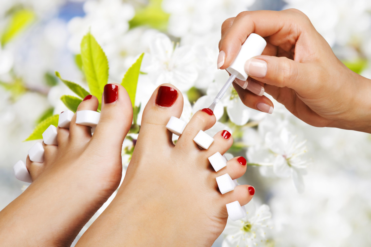 Allow yourself to be pampered with a salon pedicure once a month.