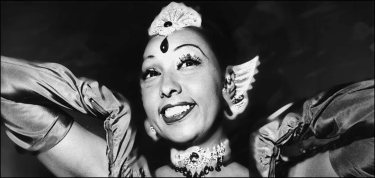 Josephine Baker in the 1920's