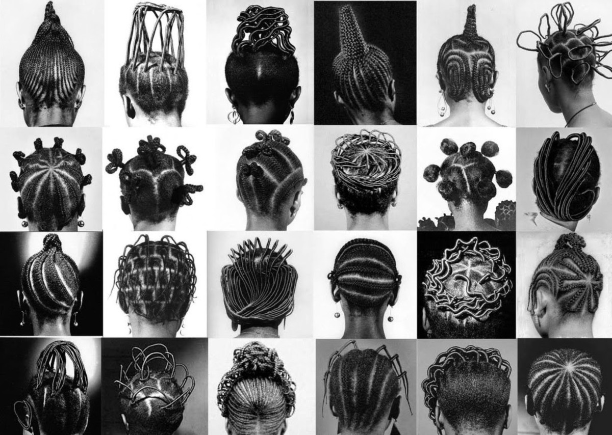 Beautiful Examples of Yoruba Hairstyles