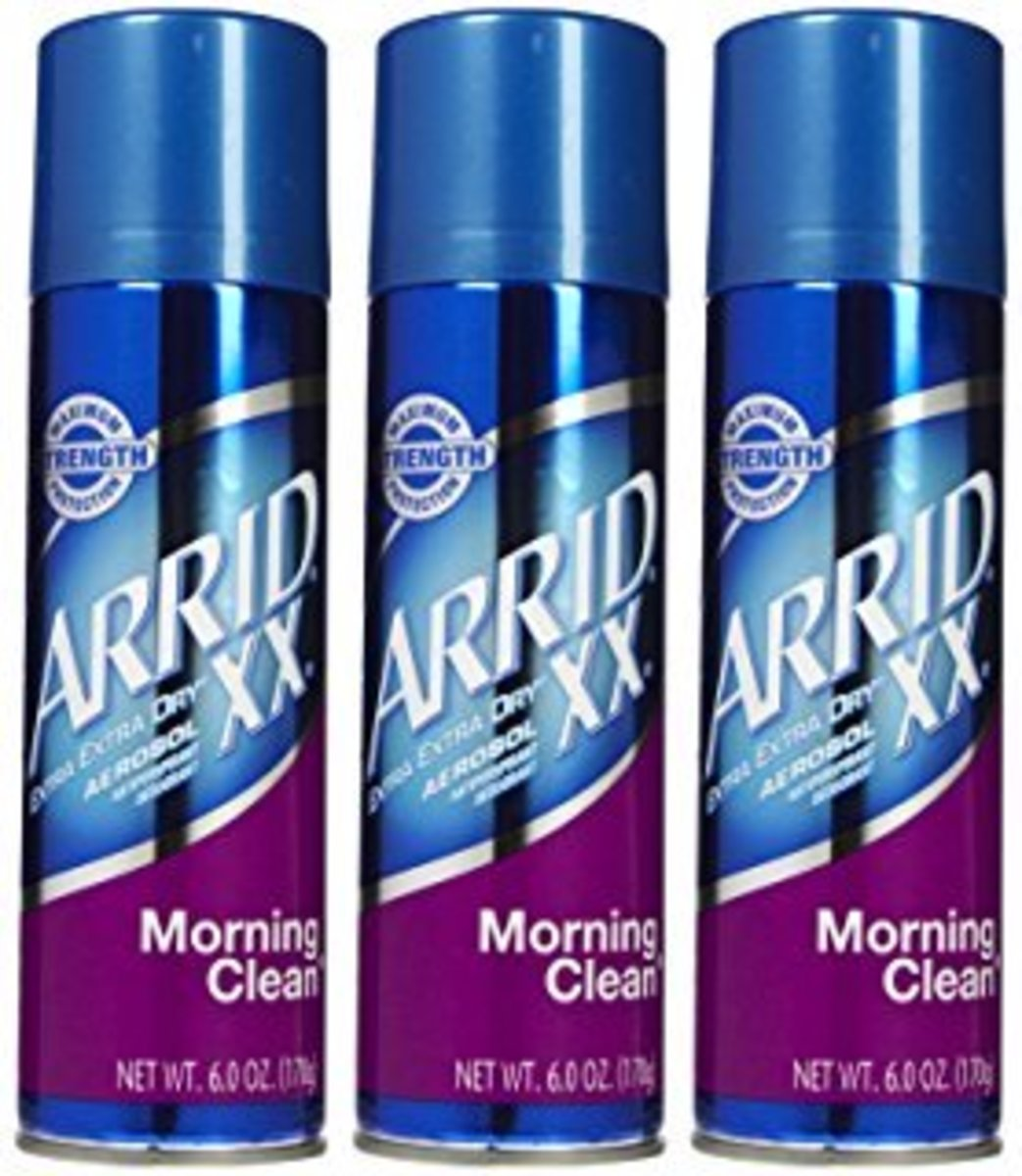 Extra Extra Dry's Morning Clean scent