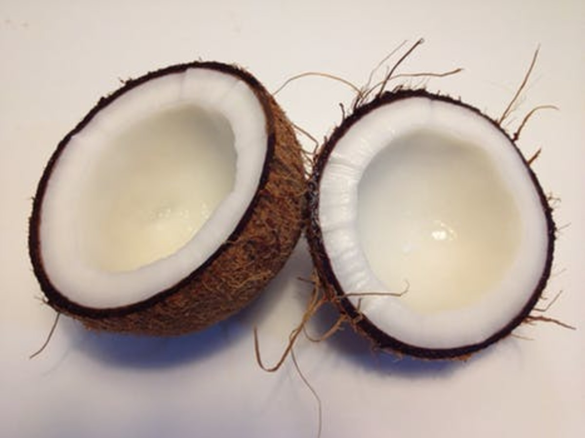 Coconut oil can be a potent facial moisturizer.