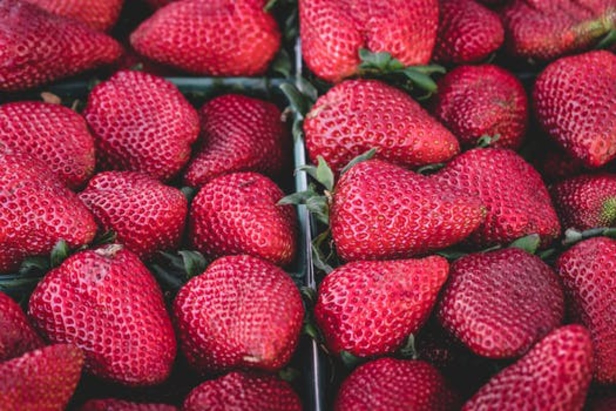 Strawberries can actually help whiten your teeth.
