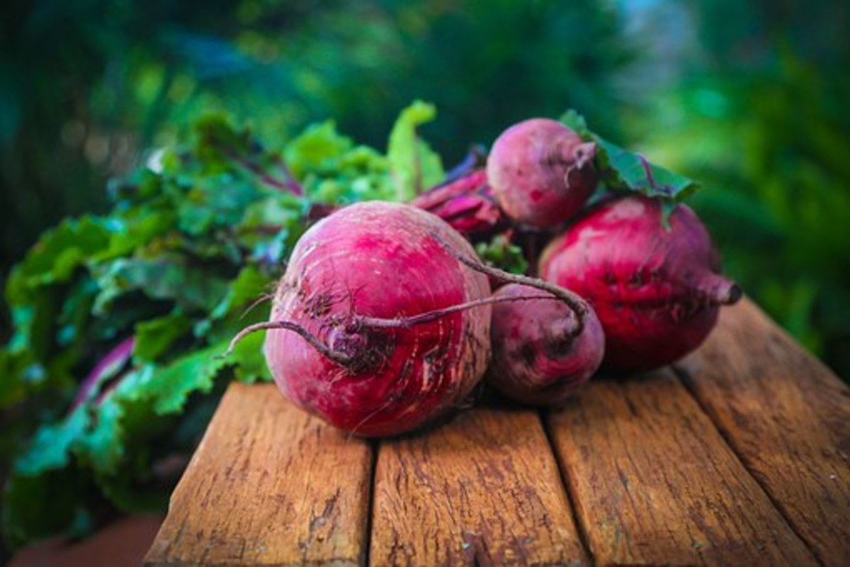 Blended and strained beets can be used as a cheap and effective lip stain.
