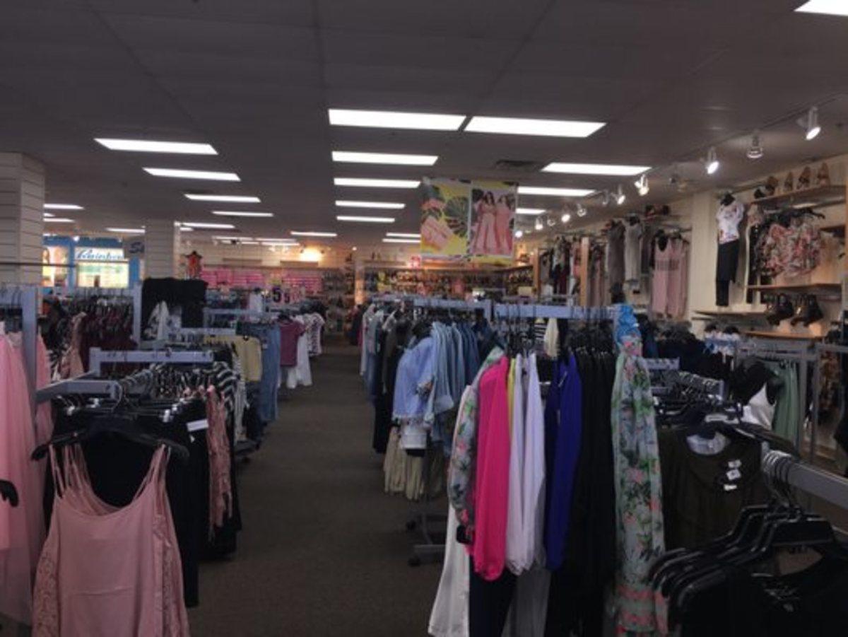 Rainbow clothing store in Jacksonville, FL