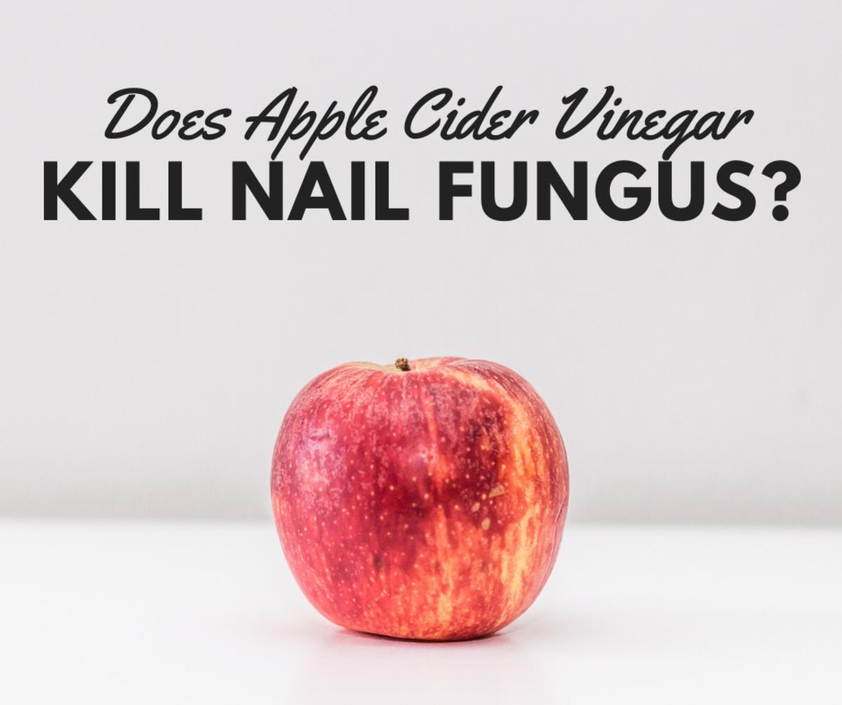 Banish nail fungus with ACV!