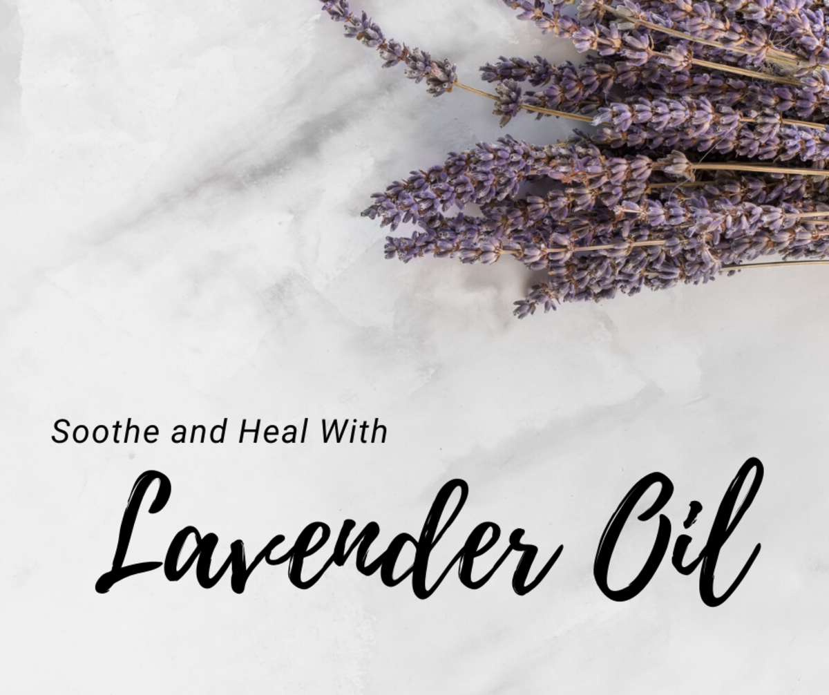 Reduce surface inflammation by using lavender oil.