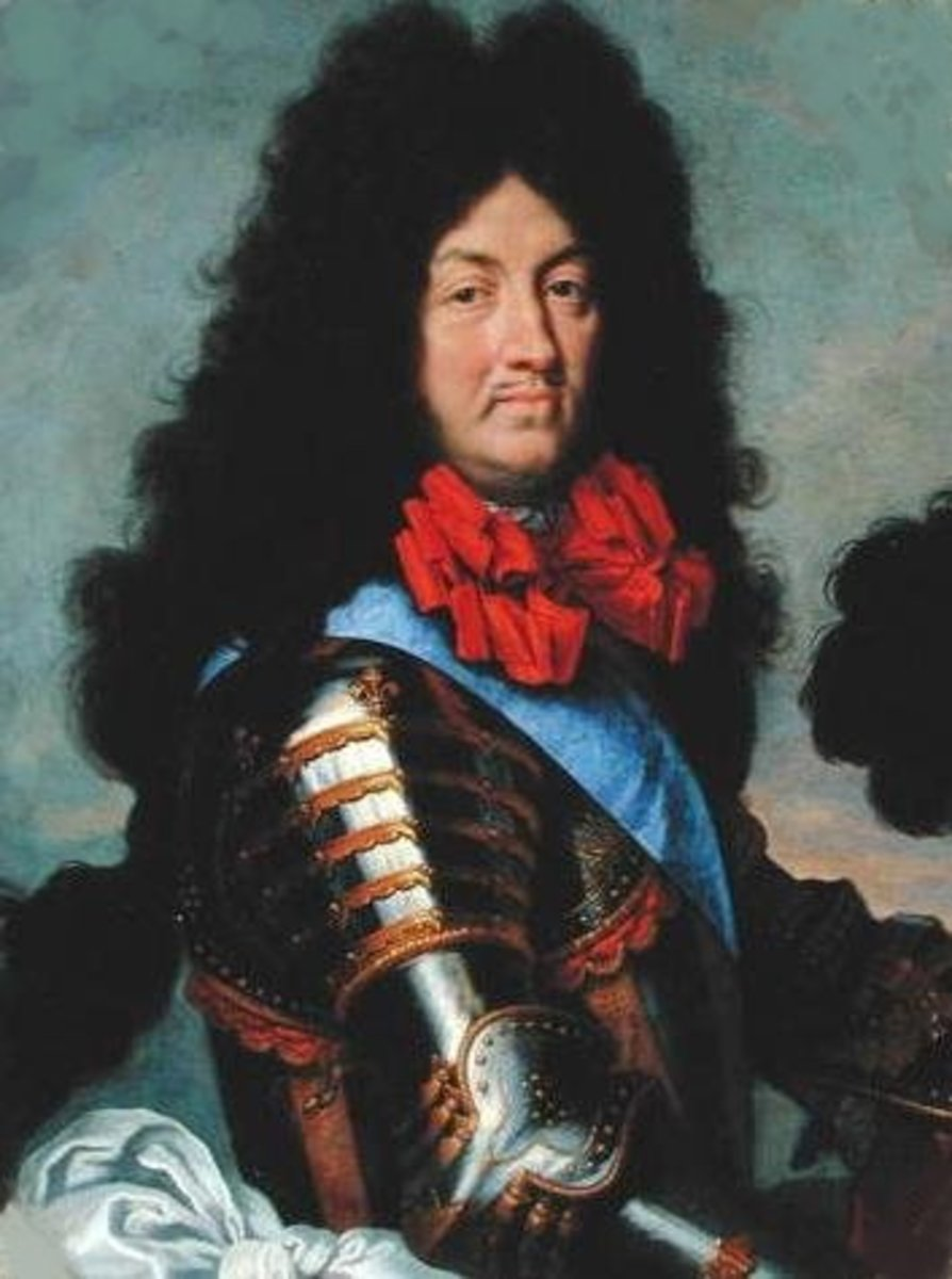 Vanity thy name is Louis XIV.