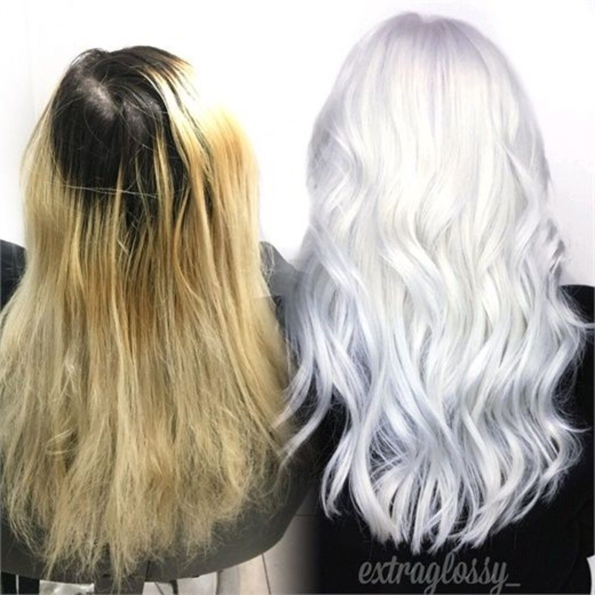 Once you've taken your hair from bleached to white, it'll take a little maintenance to keep it happy.