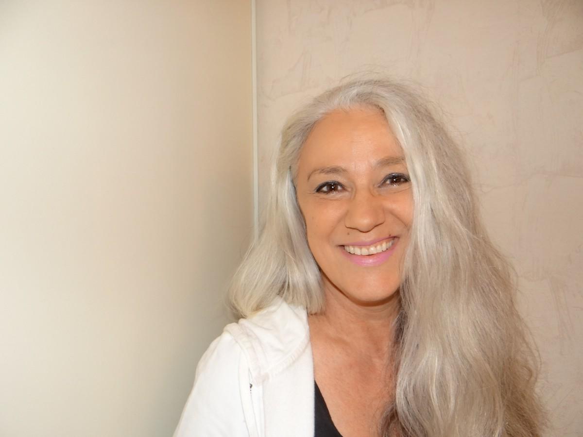 Long White Gray Hair