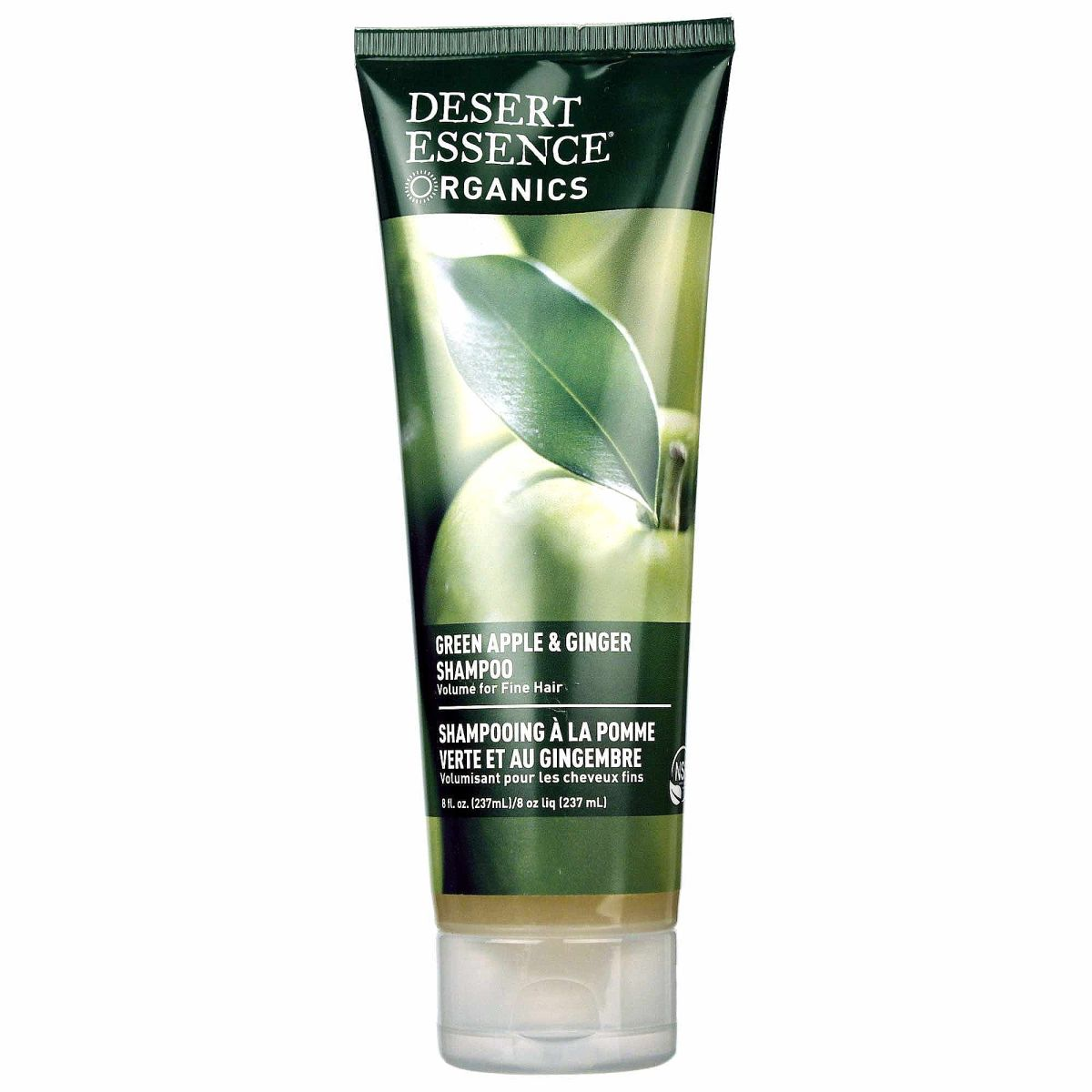 Desert Essence Organics Thickening Shampoo Green Apple and Ginger