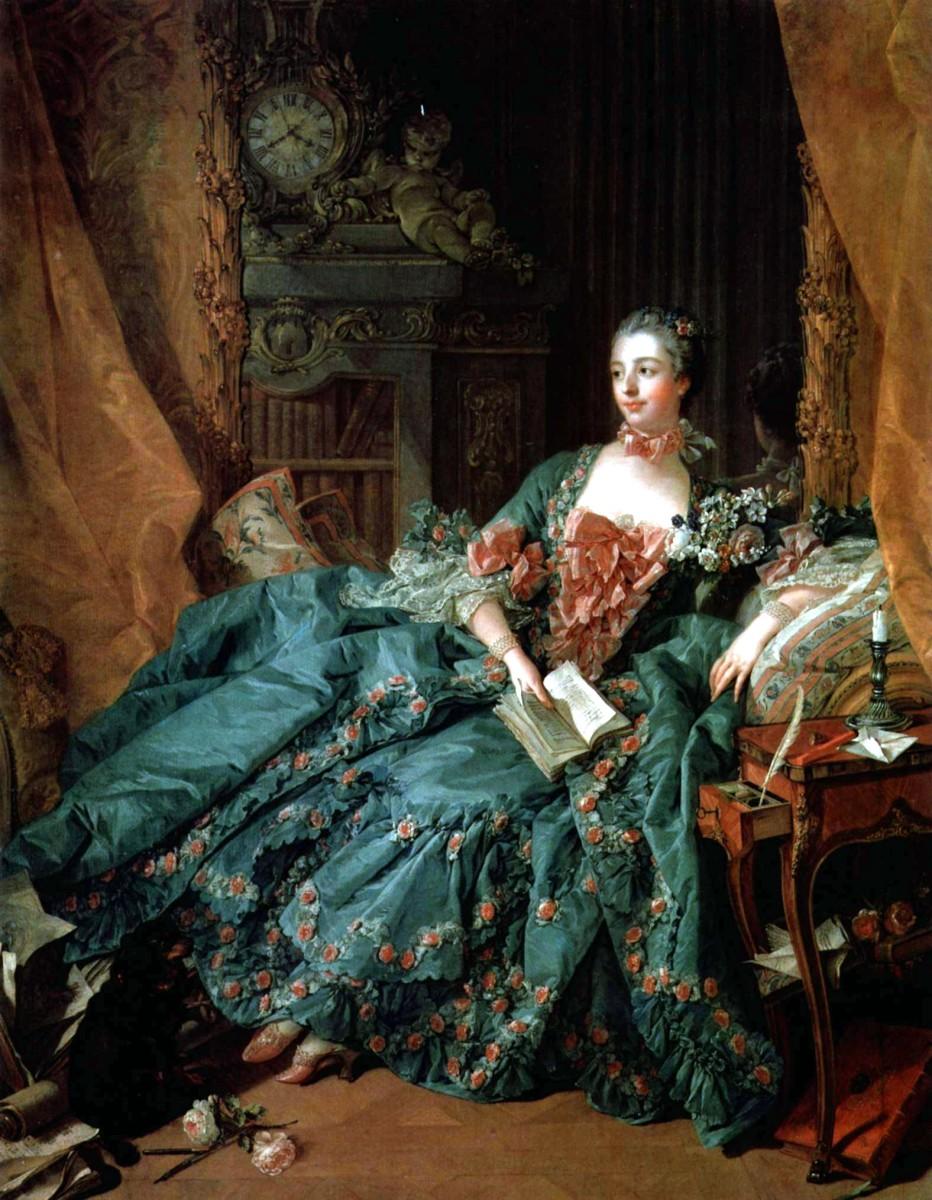 Madame Pompadour, 1756