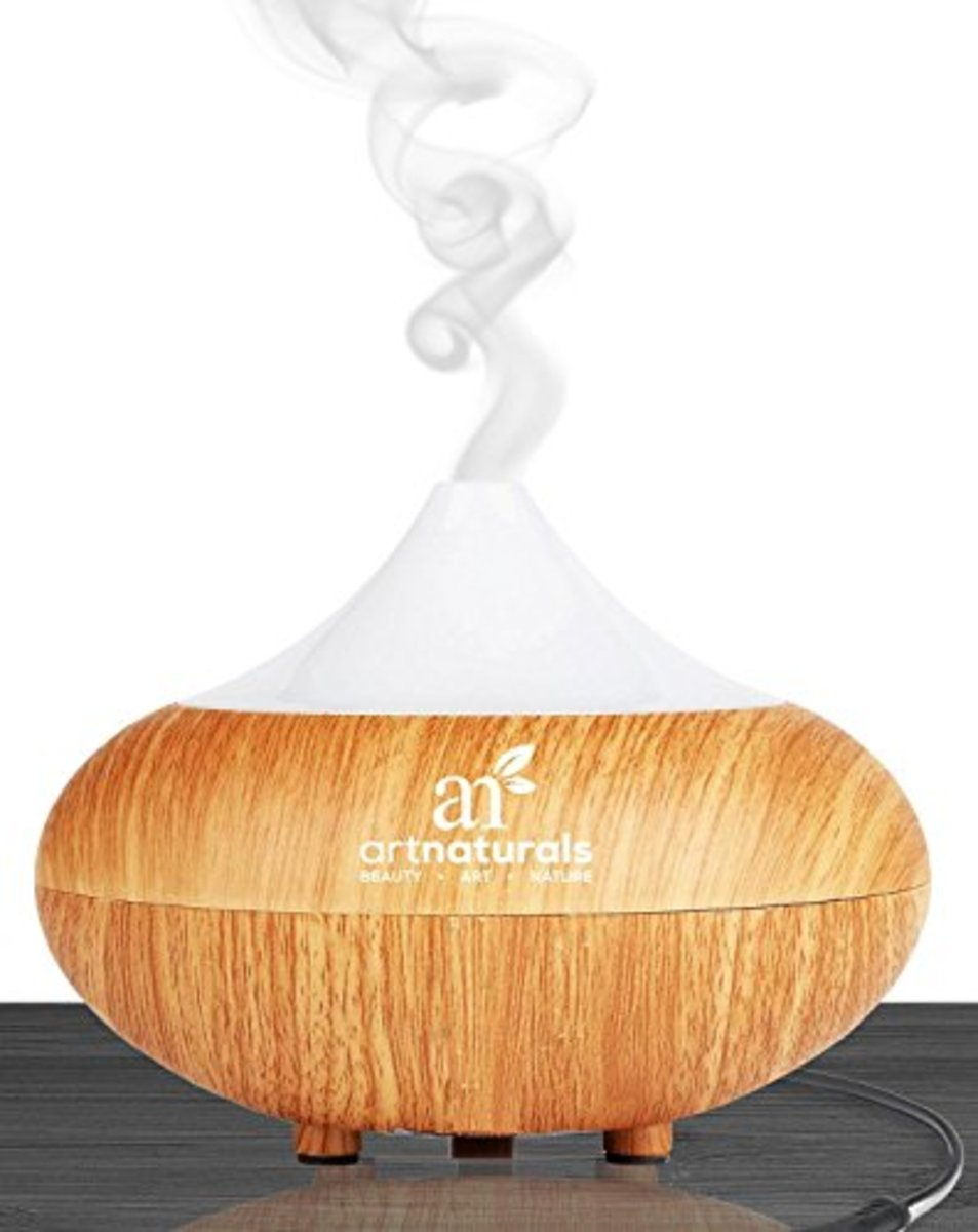 Art Naturals Essential Oil Diffuser 100 ml and Top 16 Essential Oil Set