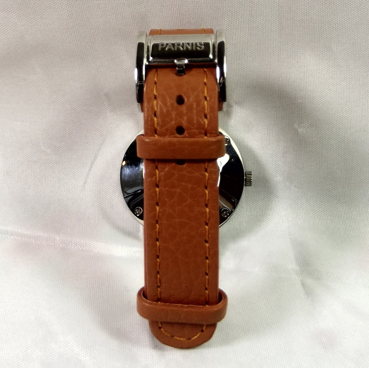 Parnis Orange 33mm quartz women's watch