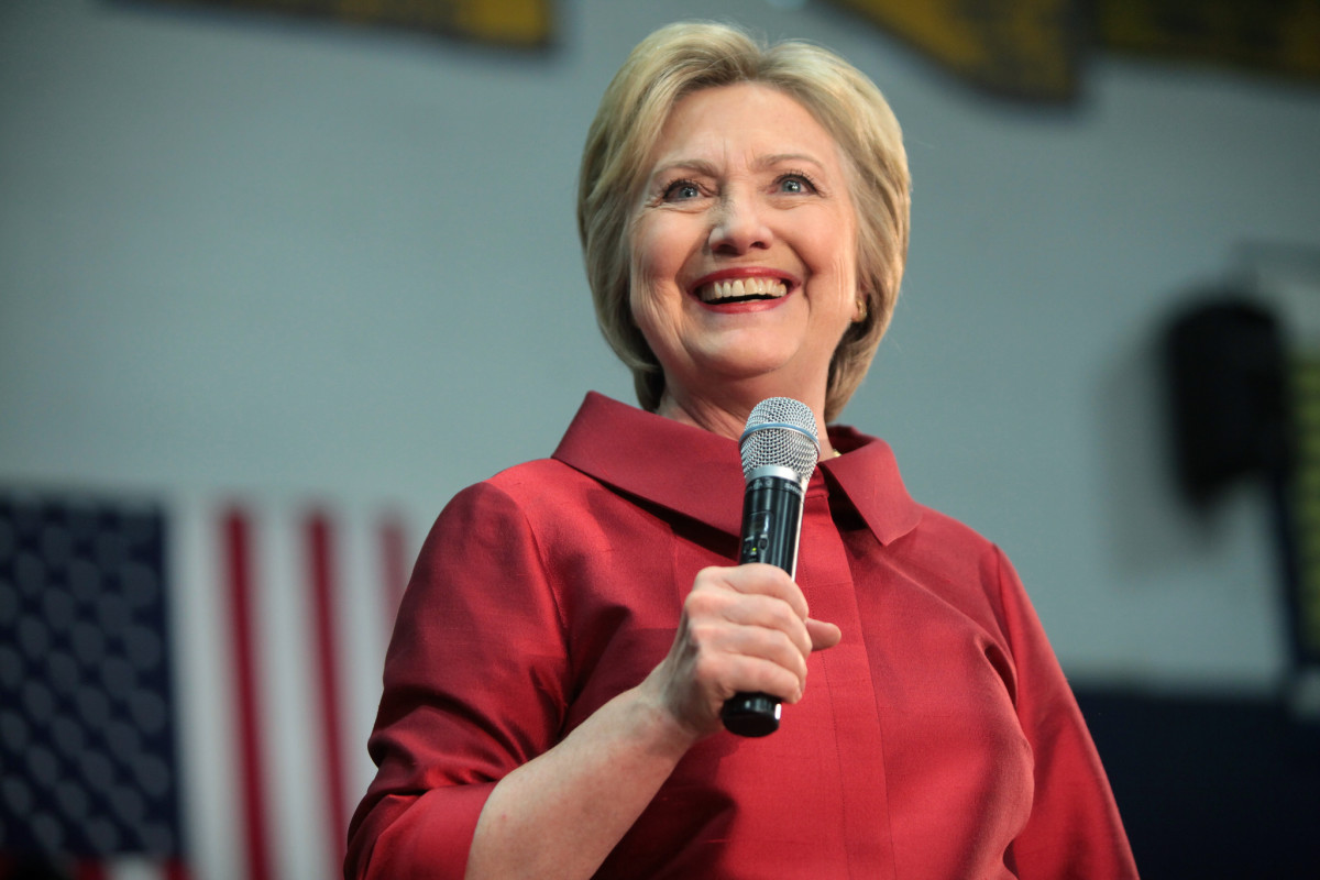 For as long as Hillary Clinton has been a public figure, she has also been blonde.
