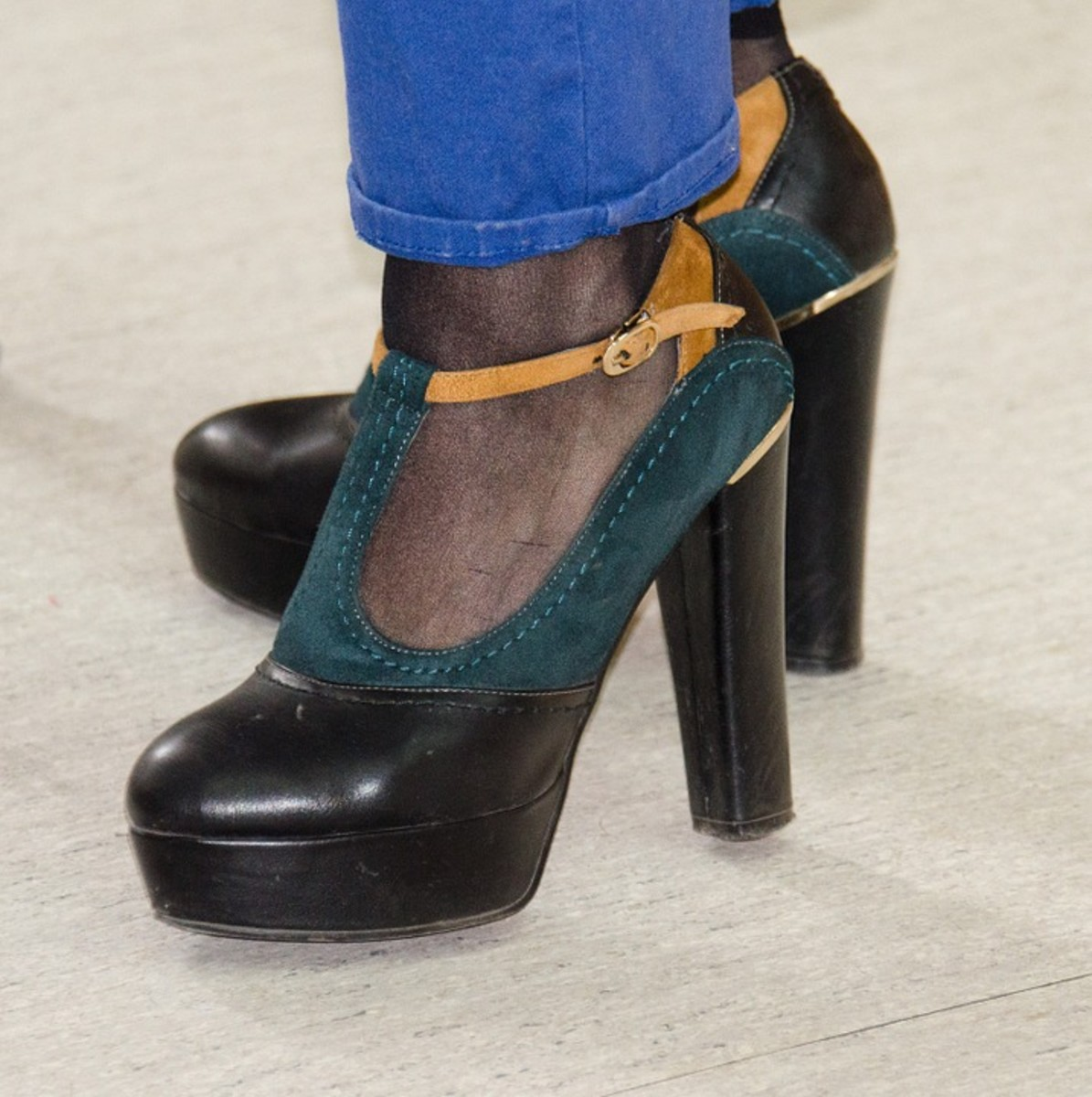 Shoes like these were ALL the rage in the 1970s!