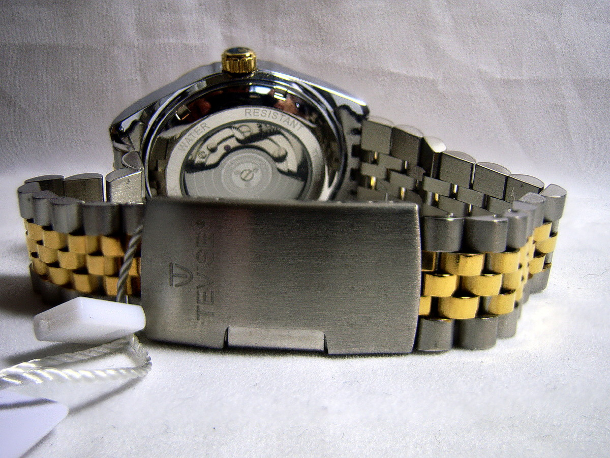 Tevise Perpetual Datejust Automatic Watch