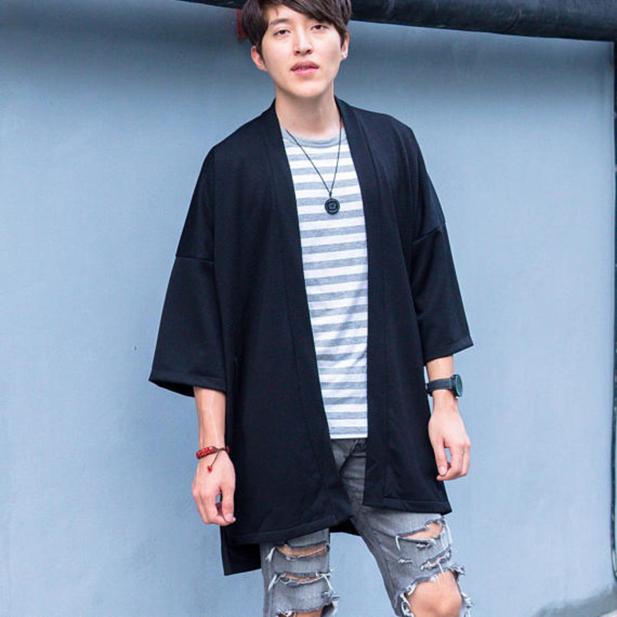 Several traditional Japanese garbs (such as the Kimono) have gotten modern iterations to fit with the more modern feel and style of Japan and Japanese streetwear.