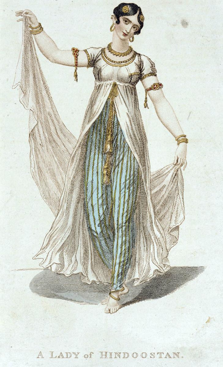 """A Lady From Hindoostan"" circa 1809"