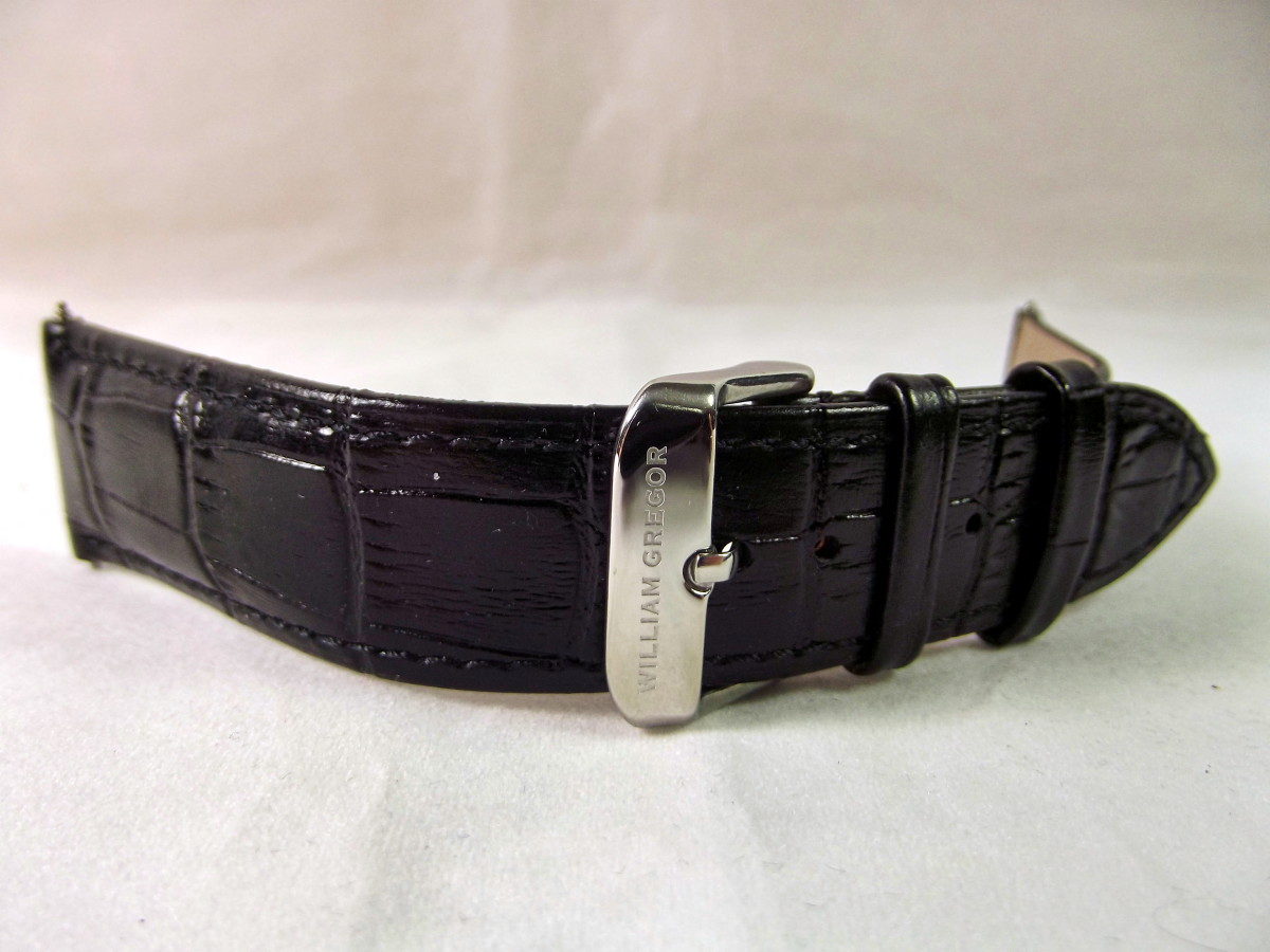 Spare strap for William Gregor BWG30090-203 Automatic Watch