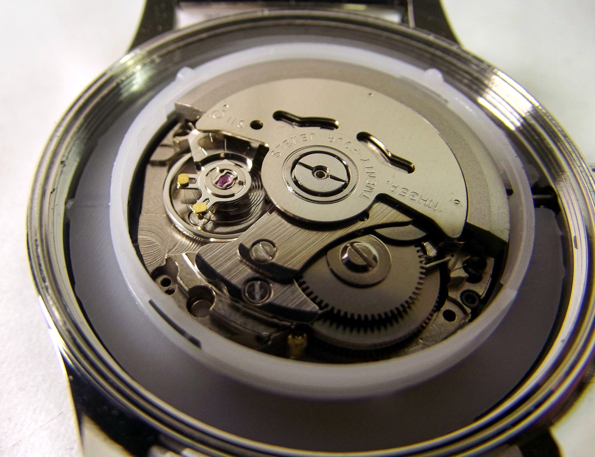 The William Gregor BWG30090-203 watch is fitted with a Seiko NH35A automatic movement