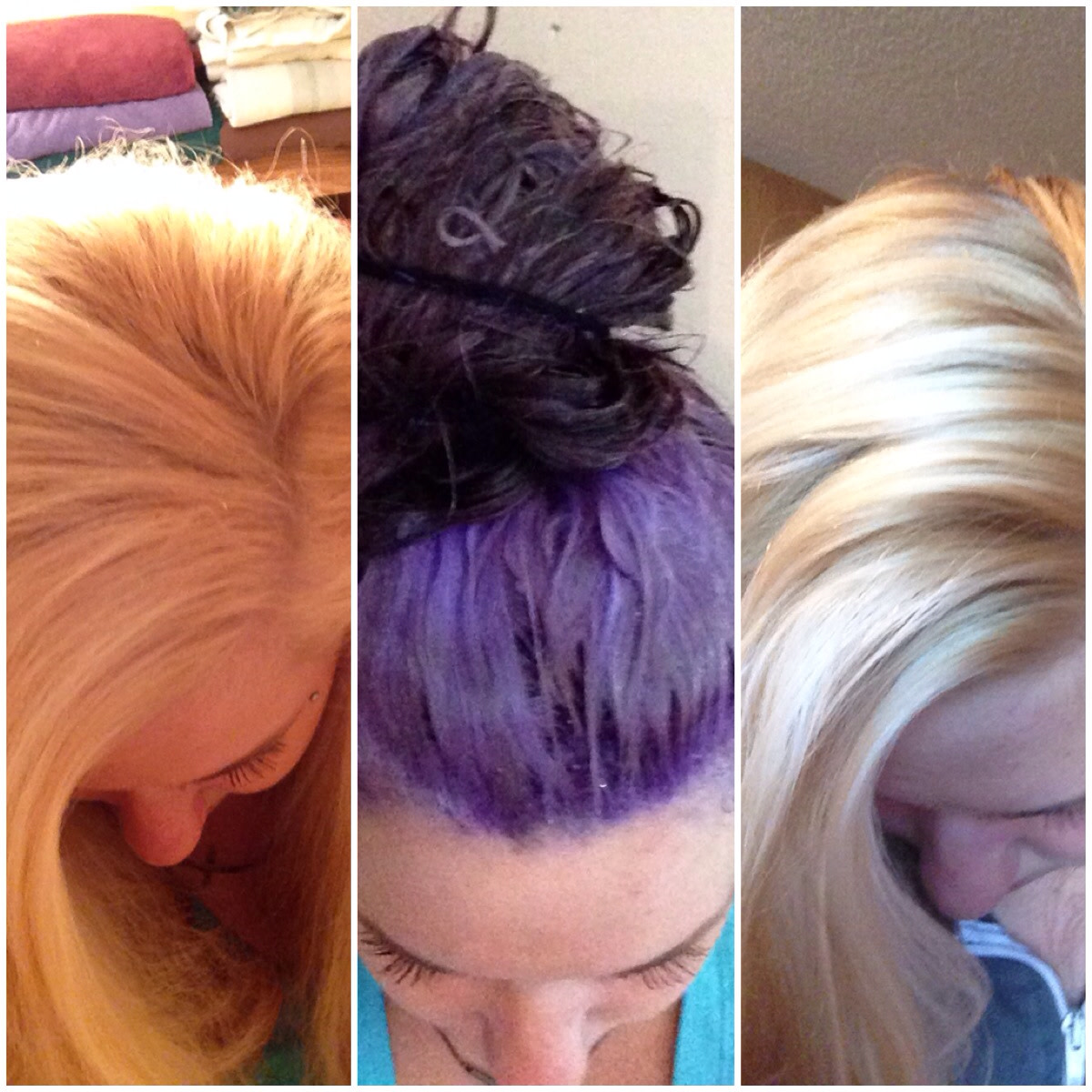 Paul Mitchell Platinum Blonde Purple Shampoo Results