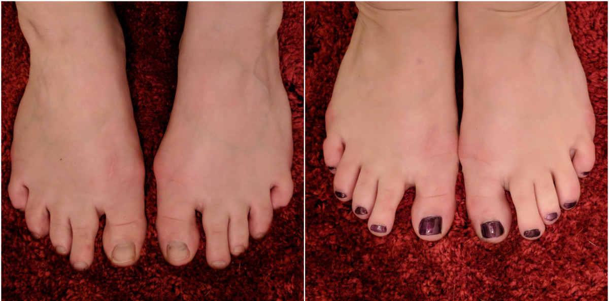 And here we have the finished product—an at-home spa pedicure that saves you some cash!