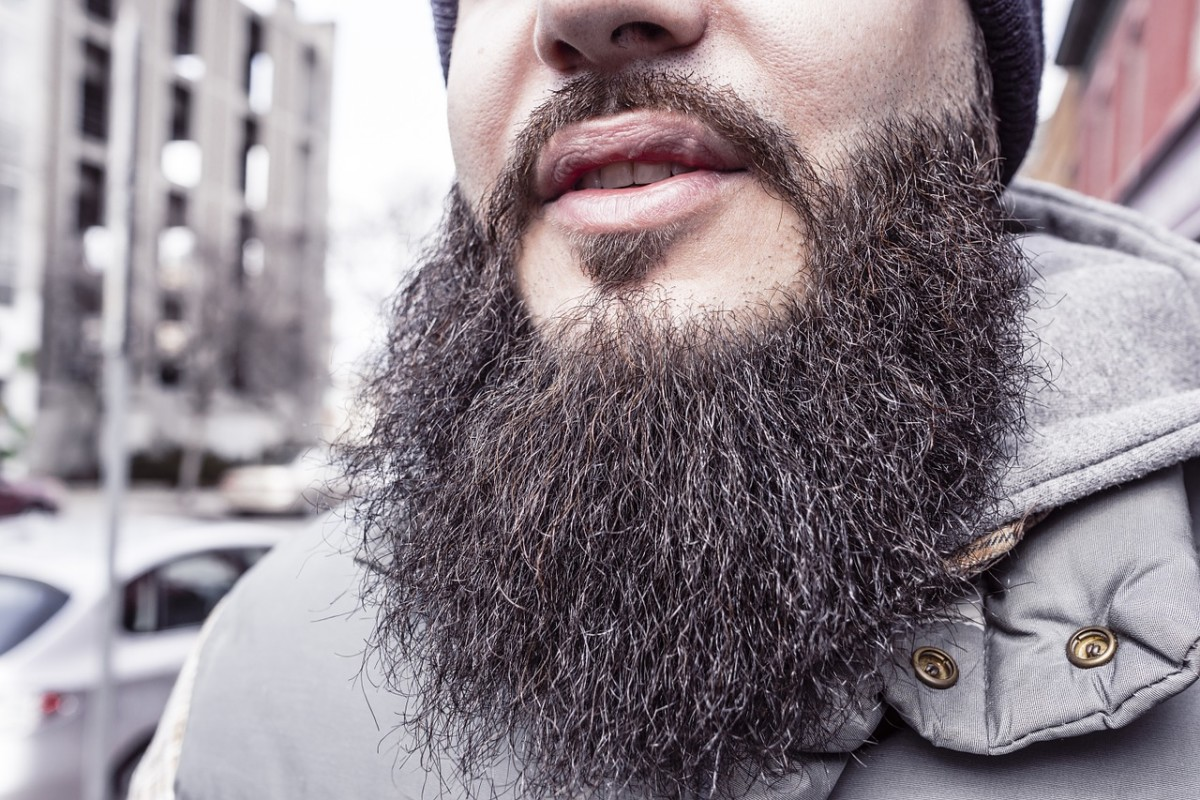 That's a fly-catchin' beard if I've ever seen one.