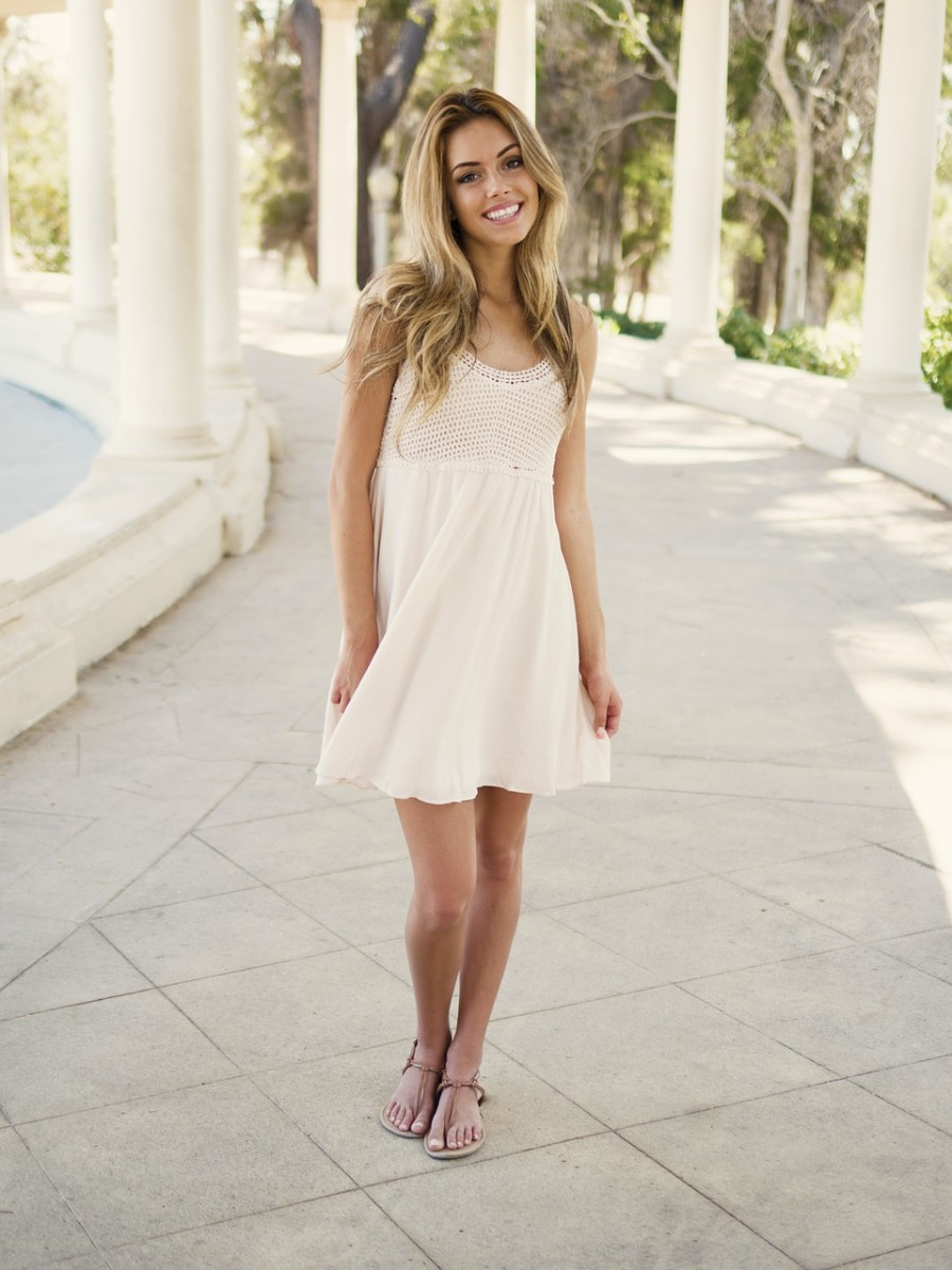 Fun and flirty, the swing dress feels great when the temps heat up.