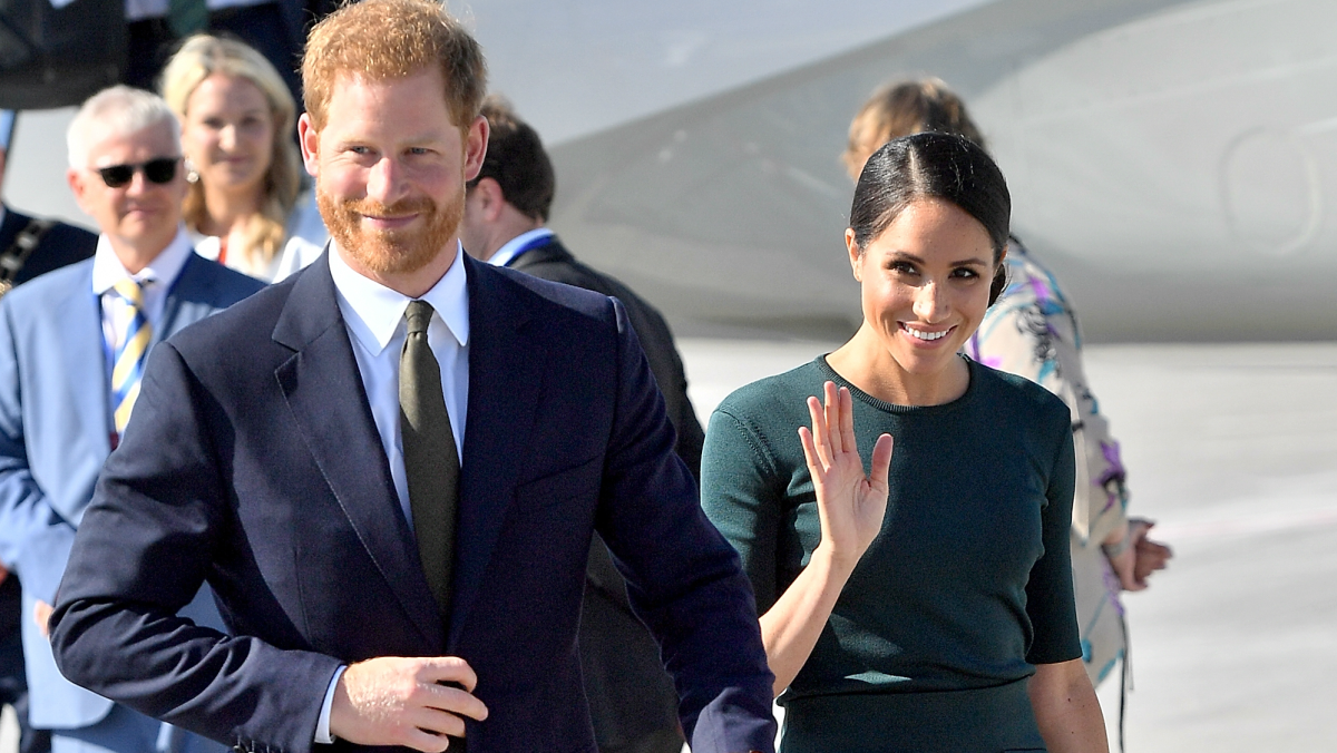 Meghan Markle and Prince Harry in Ireland.