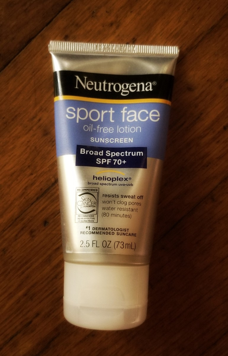 Sunscreen is important. This one is my favorite.