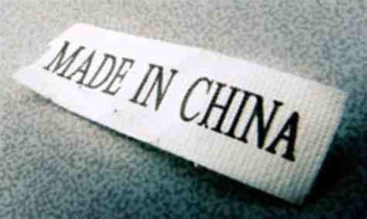 "What else does a ""Made in China"" label mean?"