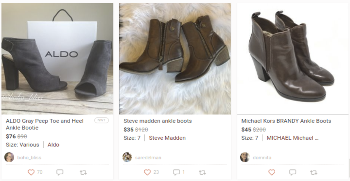 Womens shoes for sale on Poshmark.