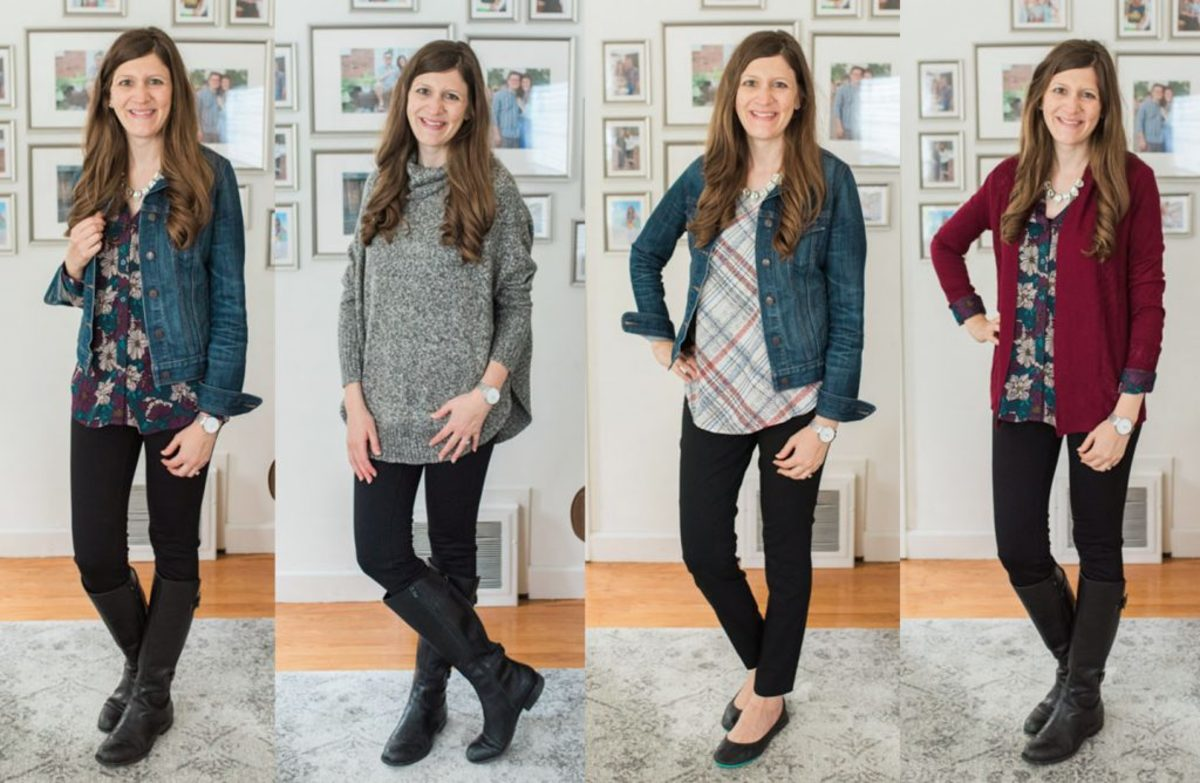 A typical capsule collection from Stitch Fix, personalized for his consumer.