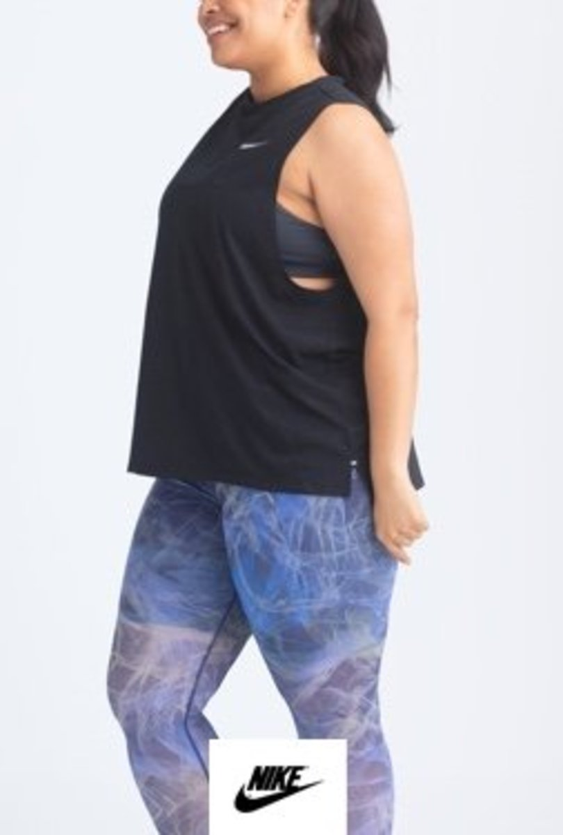 Some plus-sized clothes received from Stitch Fix from Nike.
