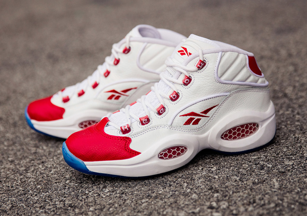 Reebok was apparently huge in the '90s, so go look for some '90s grails.