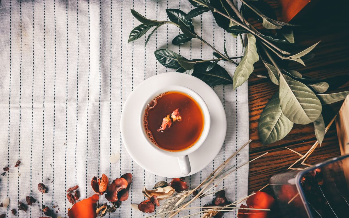 Many choose to drink rose hip tea for its high vitamin C component.