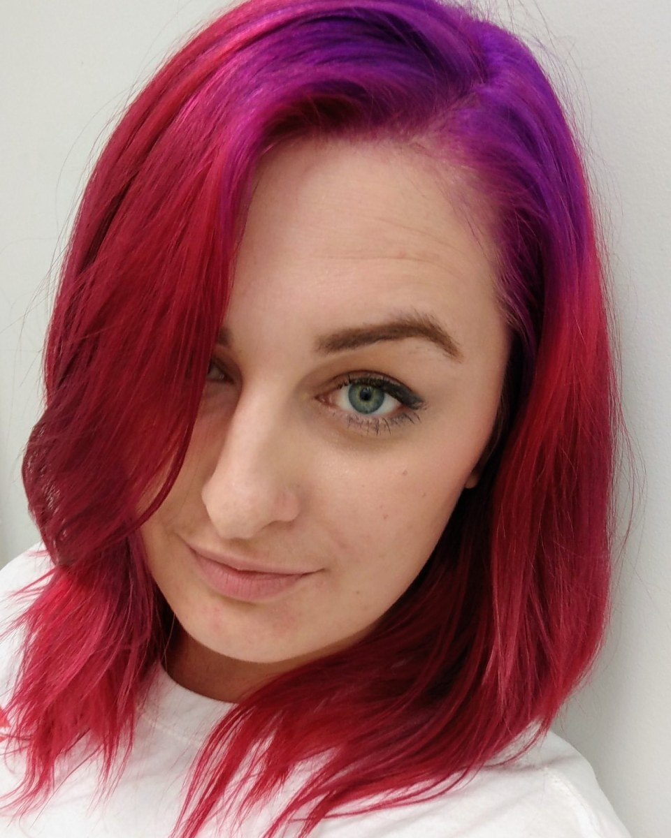 Fresh dye, at the beginning of October!