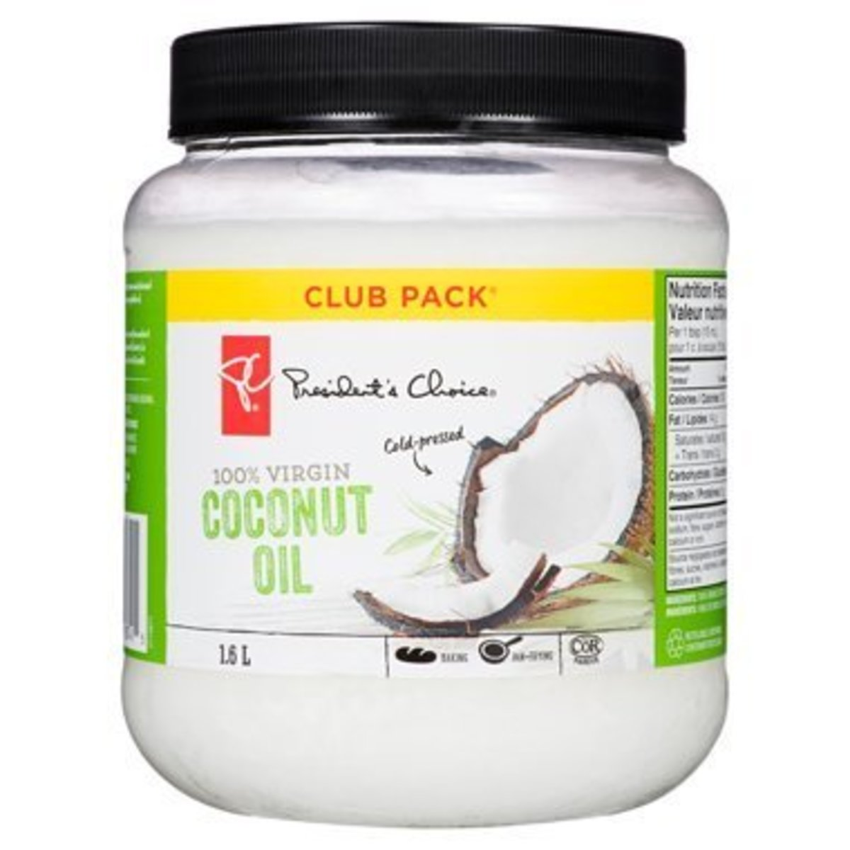 This is the coconut oil I use in my hair.