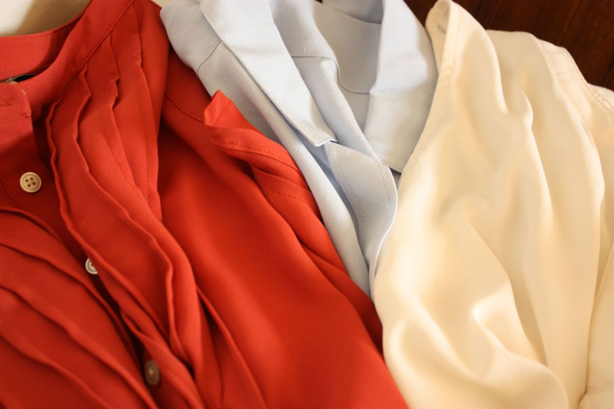 Clothing made of rayon and silk might shrink, too.