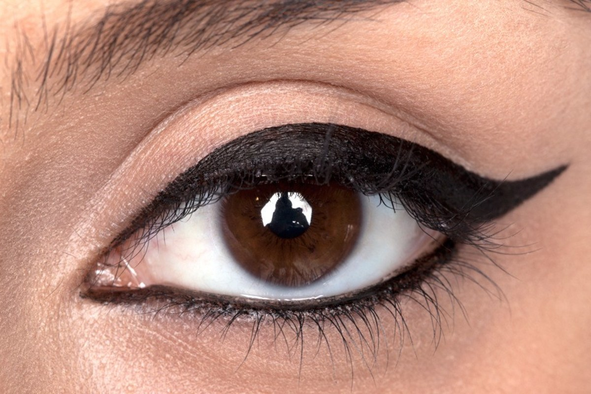 Use lower-lid eyeliner sparingly.