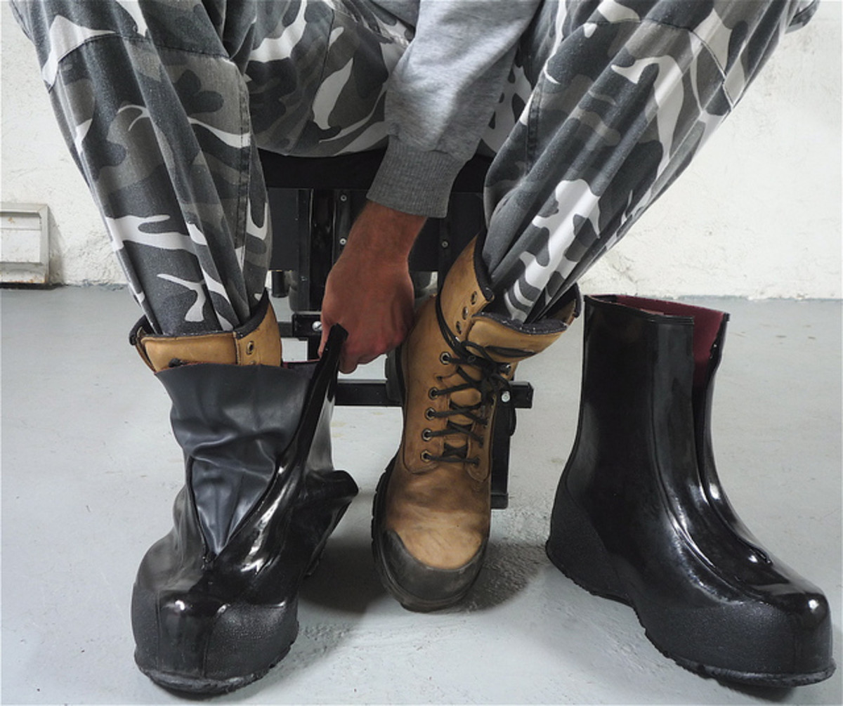 Keeping your feet warm and dry is the staple to working outdoors in cold winter weather. Good socks, boots, and overshoes keep feet from going numb