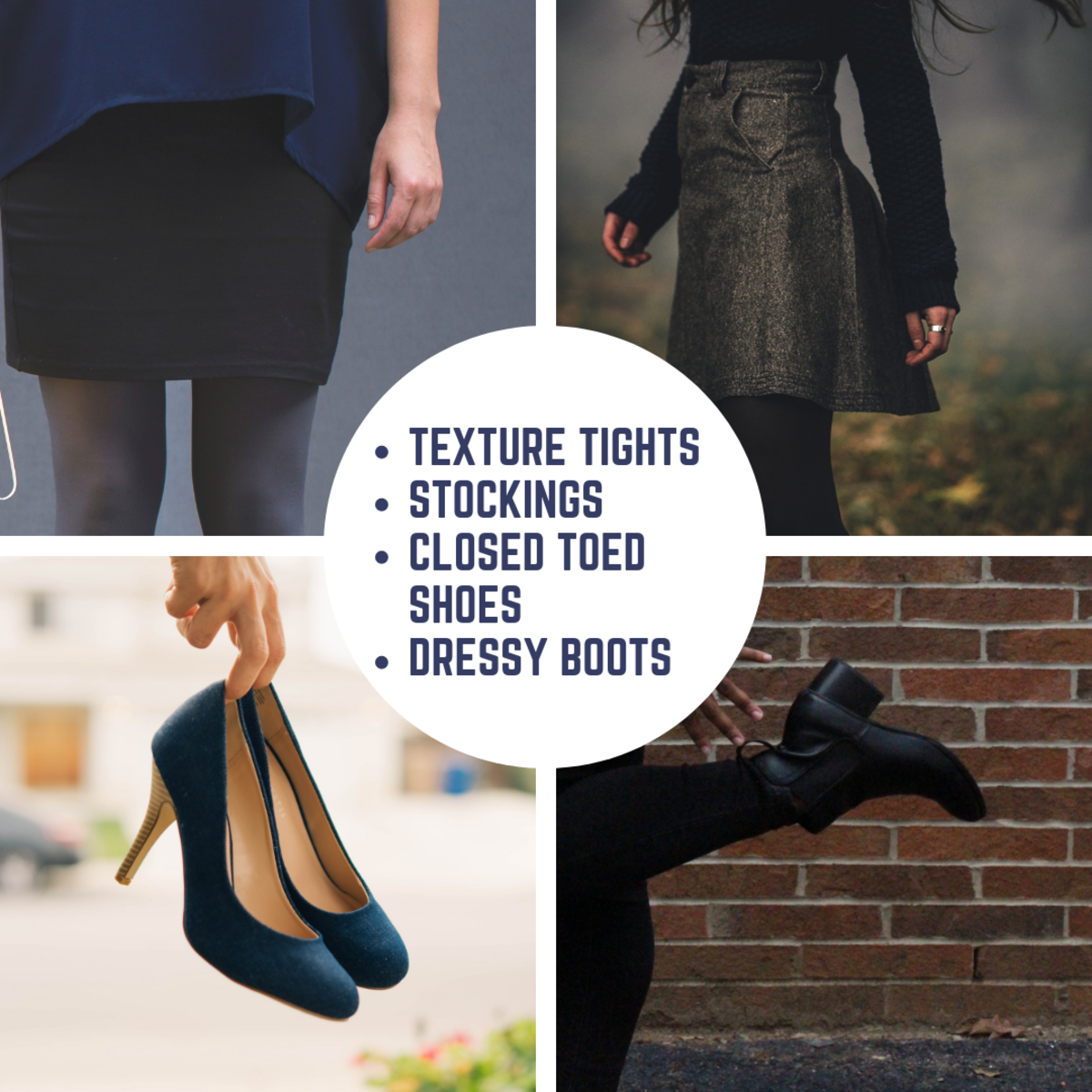 Closed toed shoes are most appropriate, but you must also consider what type of weather you will be in.