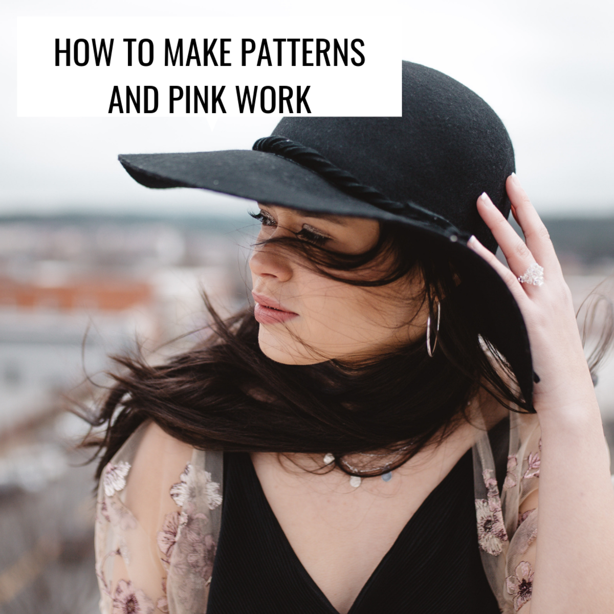 Lighter colors can work well if used as a scarf or to offset dark clothing.