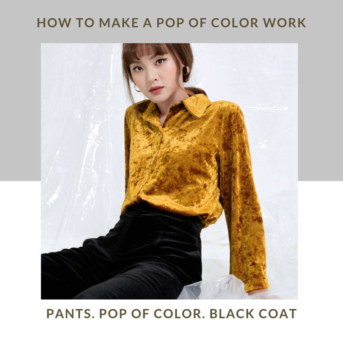 Color is ok so long as it's used tastefully.