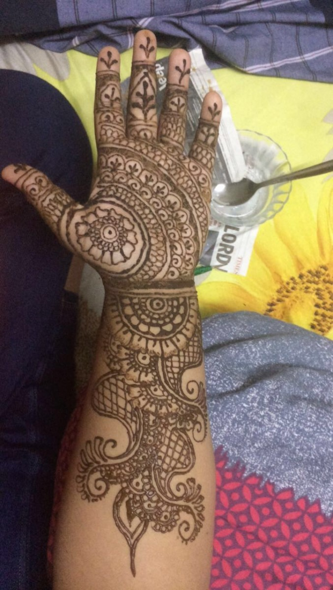 This is an Indian design I did while in India
