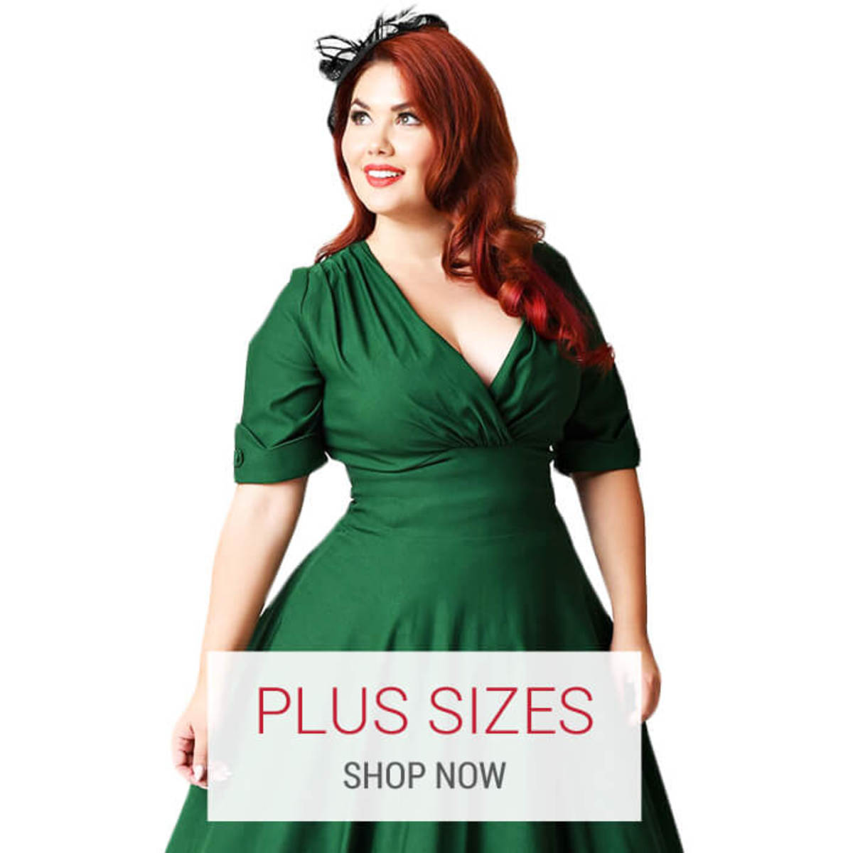 Atomic Cherry offers retro and rockabilly clothing for sizes 14 and up.