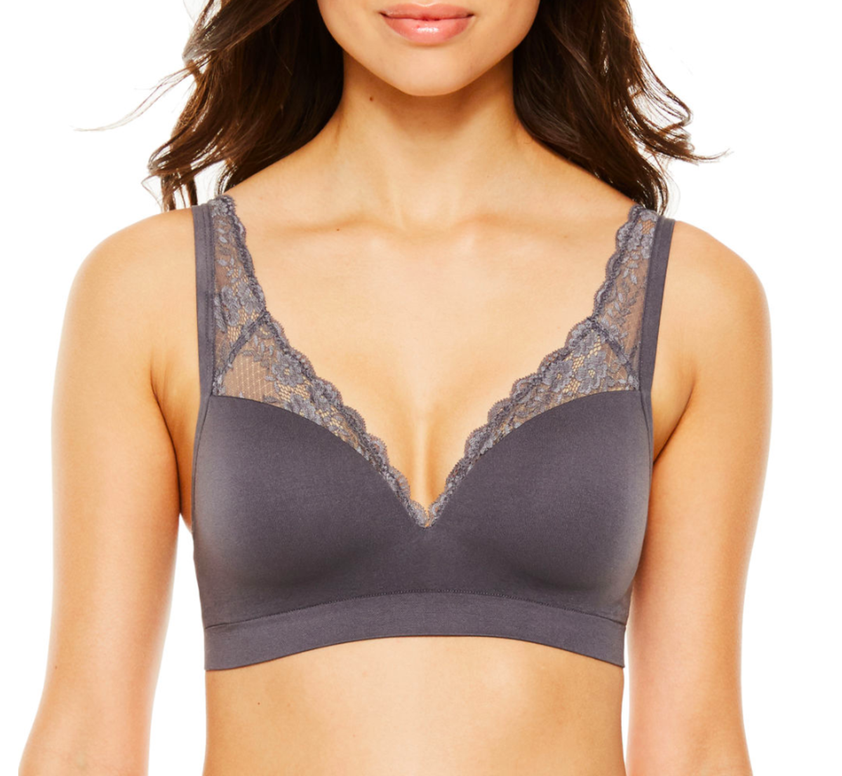 Ambrielle Smoothing Solutions Lace Bralette