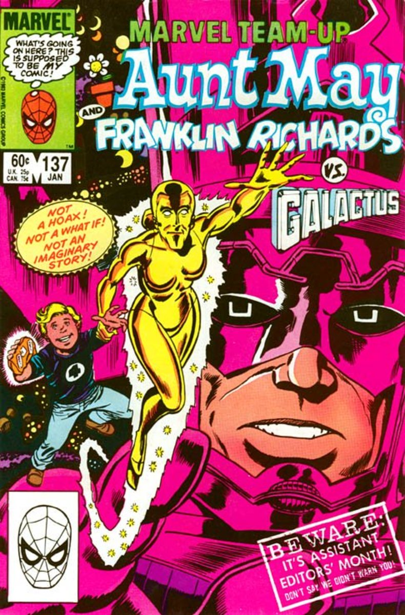 Comic Books that Time Forgot: Marvel Team-Up #137 (1984)