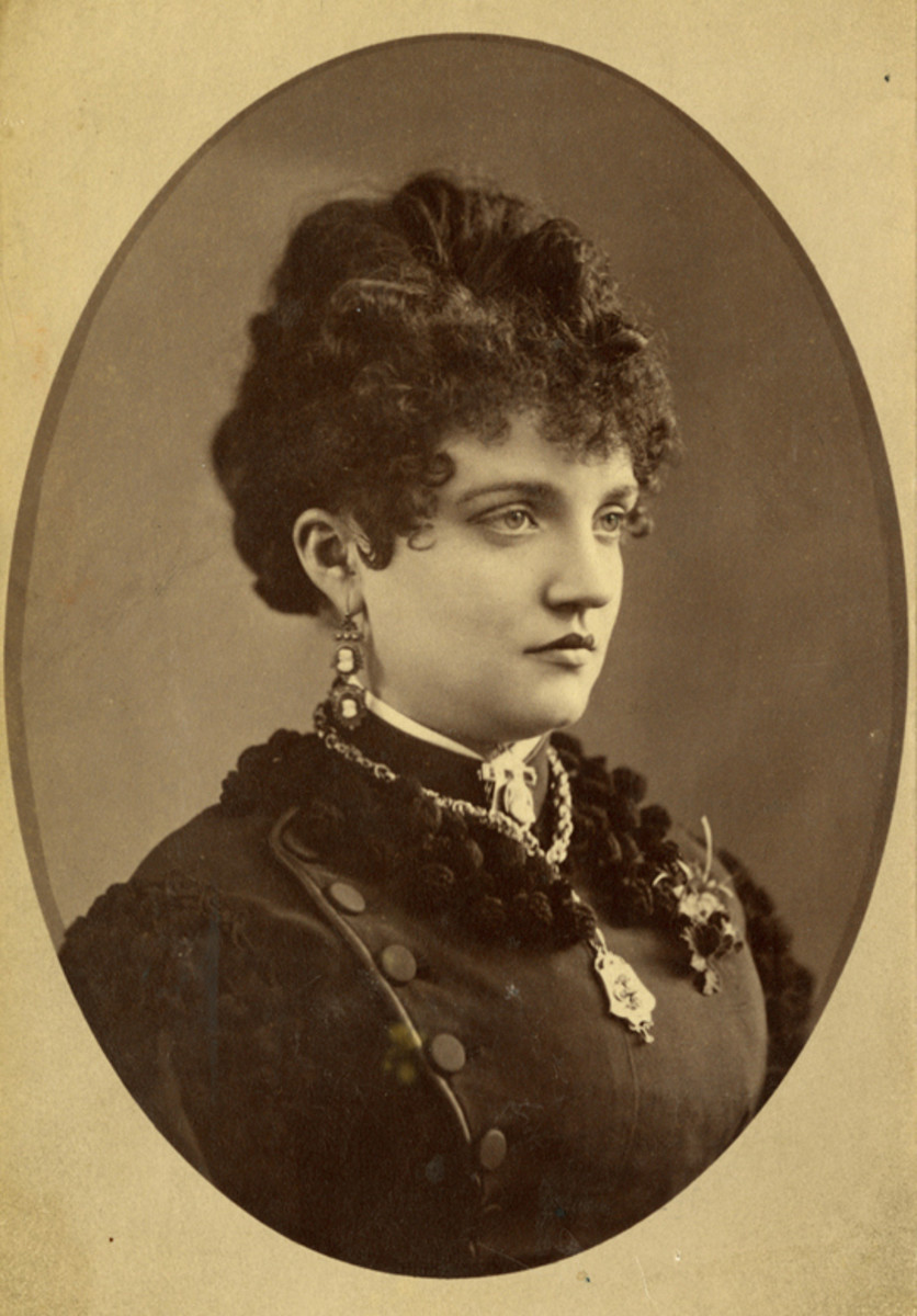 Elizabeth McCourt Tabor (1854–1935) was one of the best dressed women in the West. Her life was a rags to riches to rags story.