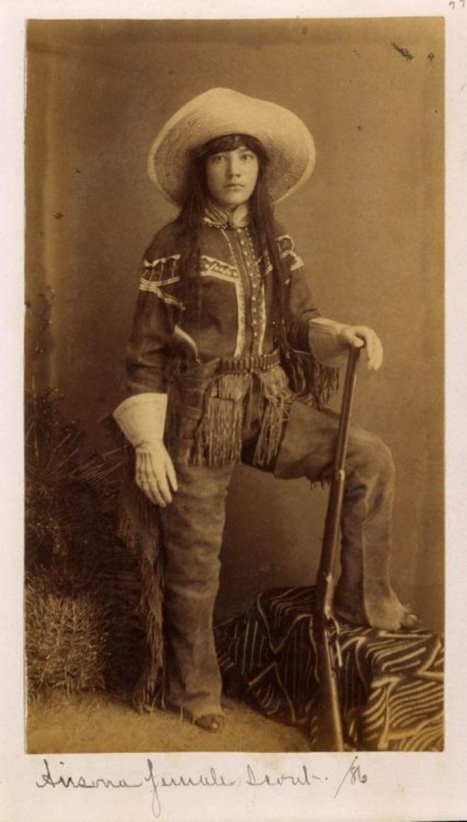 Tejana Cowgirl 1886